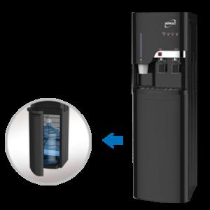 Homage 2 Taps Water Dispenser HWD-51 2 Taps, Stainless steel tank
