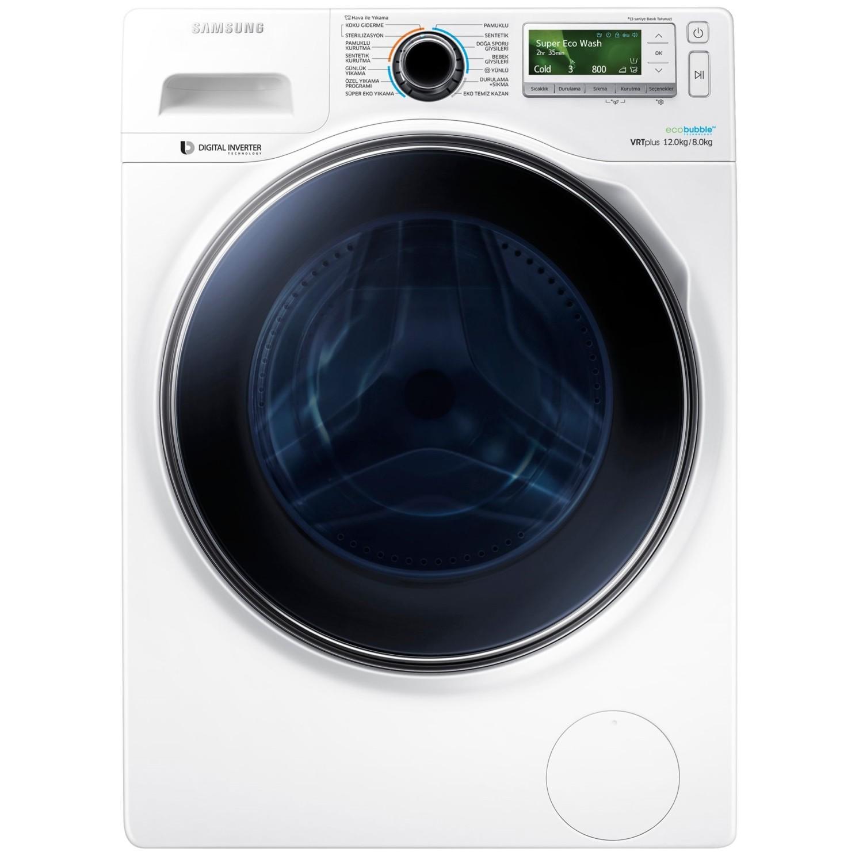 samsung 12kg front load washing machine wa12j8420gx online shopping