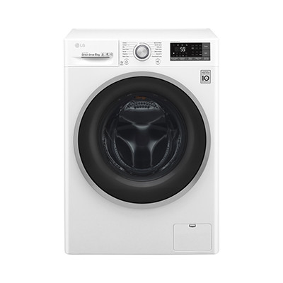 LG 8kg Front Load Washer and Spinner F4J6TNP0W