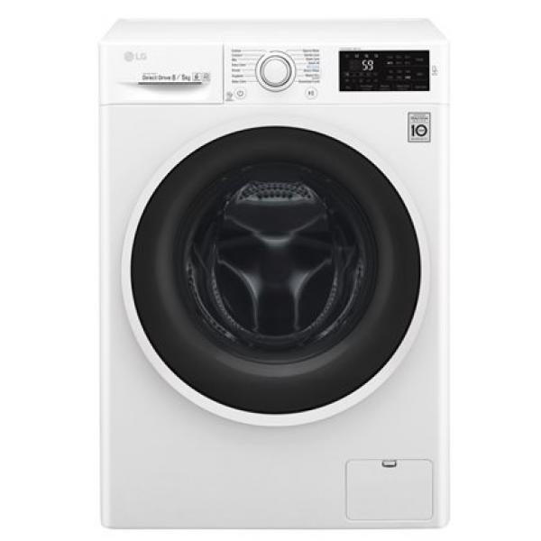 LG 8kg Front Load Washing Machine F4J6TMPOW