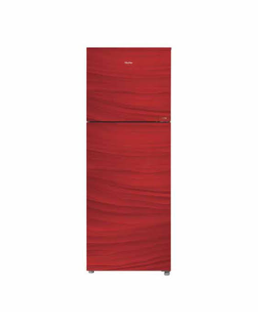 Haier Free Standing Refrigerator E-Star HRF-306EPR Glass Door 2