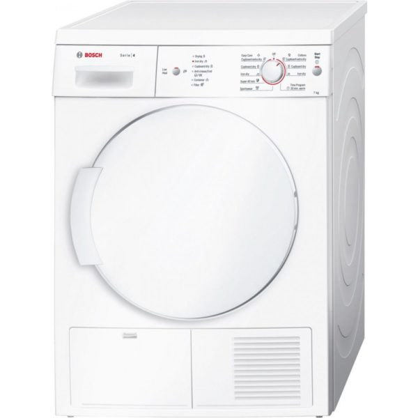 Bosch Free Standing Condenser Dryer WTE84106GC 1